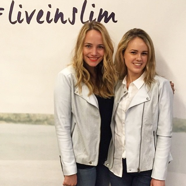 twinning at our event! @officialnydj @real_simple #liveinslim (obsessed w this…