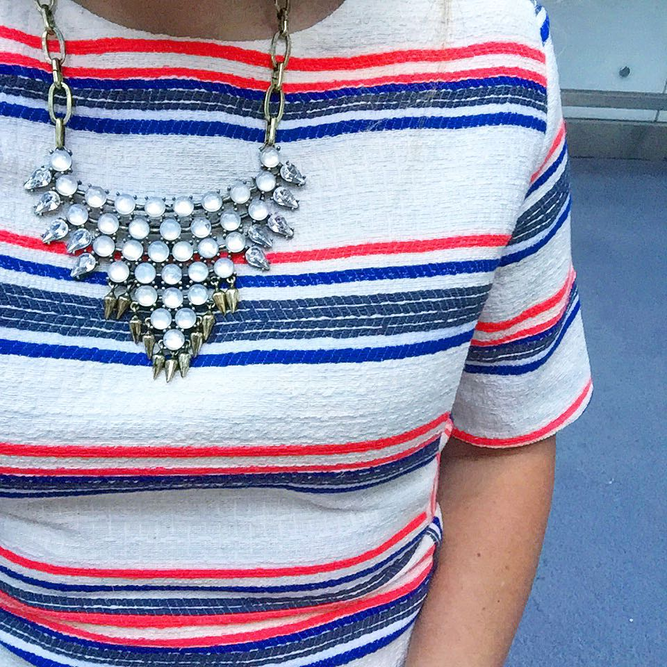 stars and stripes sort of! ps  my necklace ishellip