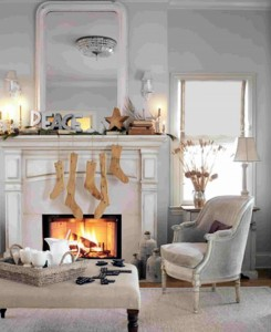 modern-fireplaces-ideas-with-pretty-traditional-Christmas-ornaments-including-mantel-fireplace-and-contemporary-furniture-decorating-ideas-for-new-Christmas-inspirations-in-white-color-615x8631