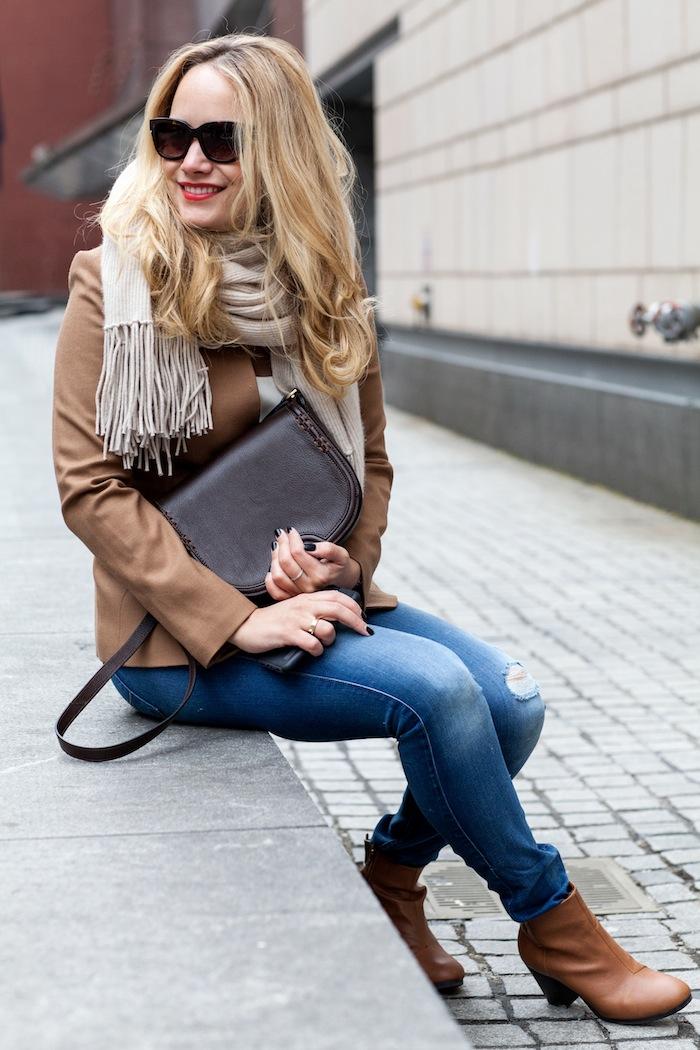 1 - Girl Sitting Outside