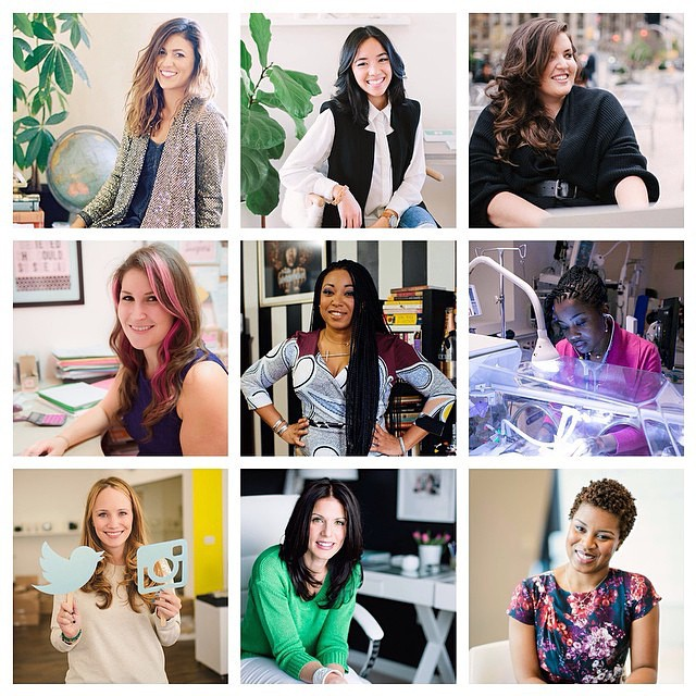 wowsers. today @theeverygirl_ rounded up their top ten career profiles…