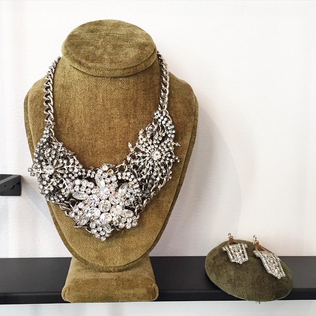 still day dreaming about this necklace from this week's visit…