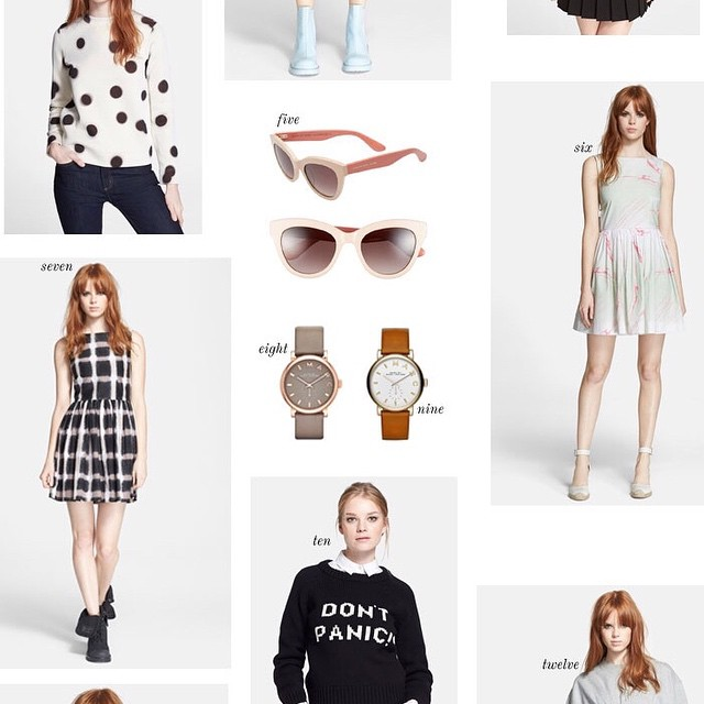 crushing on so many amazing Marc by Marc Jacobs pieces…
