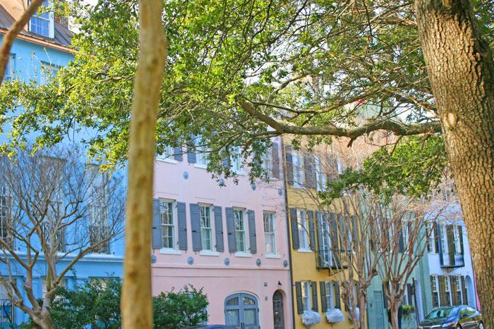 Charleston-Trip---Rainbow-Row