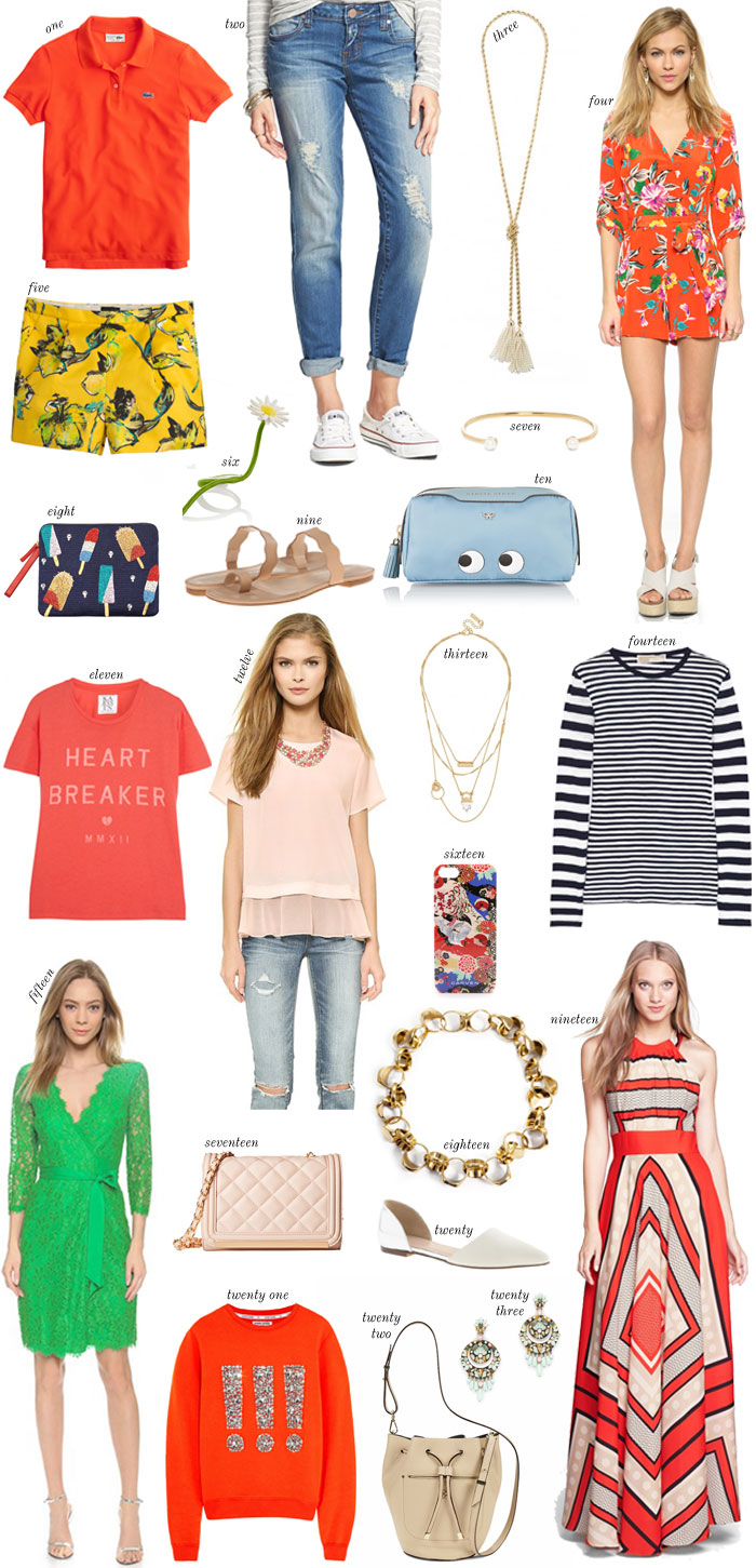 Spring fashion online shopping