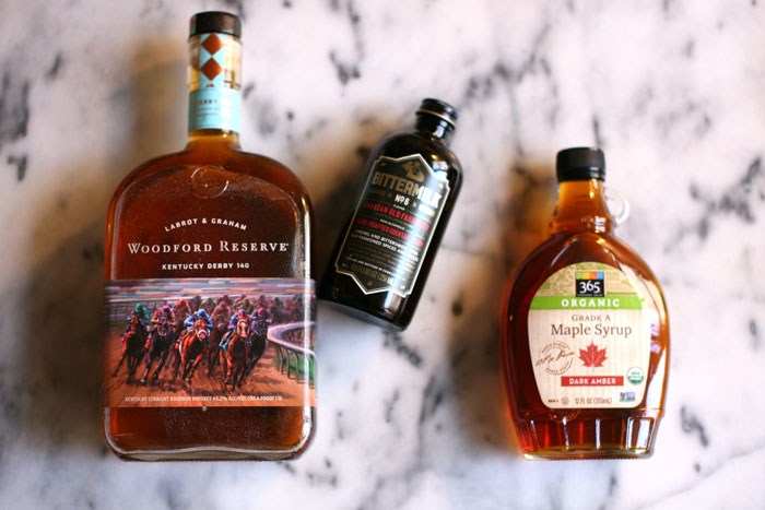 ingredients-bacon-infused-bourbon-old-fashioned