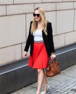 theory zeya crunch pleated skirt 3