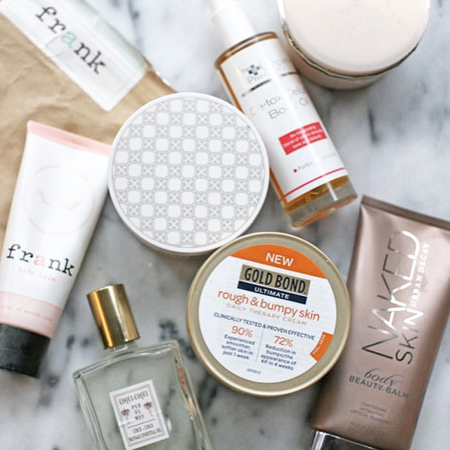 today on The Stripe: my favorite body products. #stripebeauty