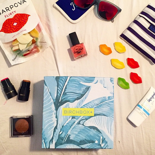 ready for the long weekend thanks to @birchbox's super cute…