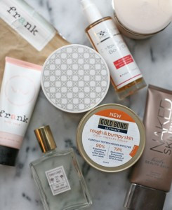eight best body products