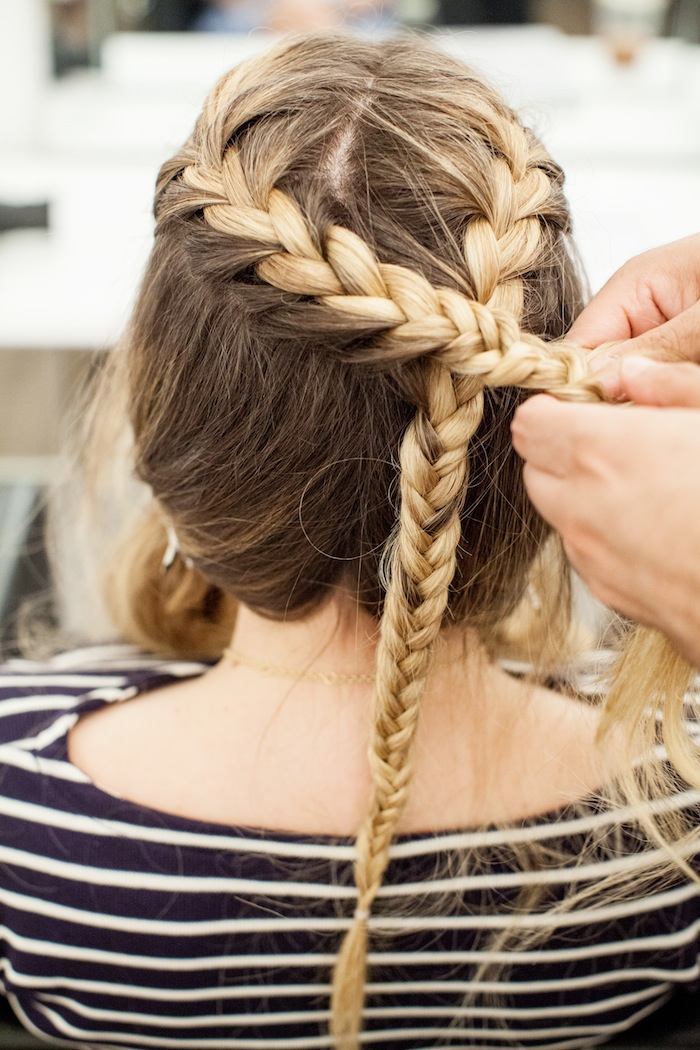 game of thrones khaleesi braid hair tutorial step 12
