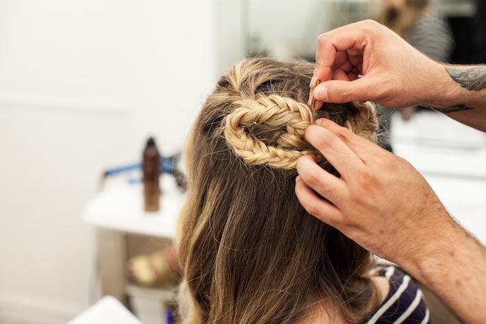 game of thrones khaleesi braid hair tutorial step 21