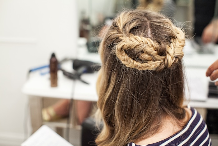 game of thrones khaleesi braid hair tutorial step 24