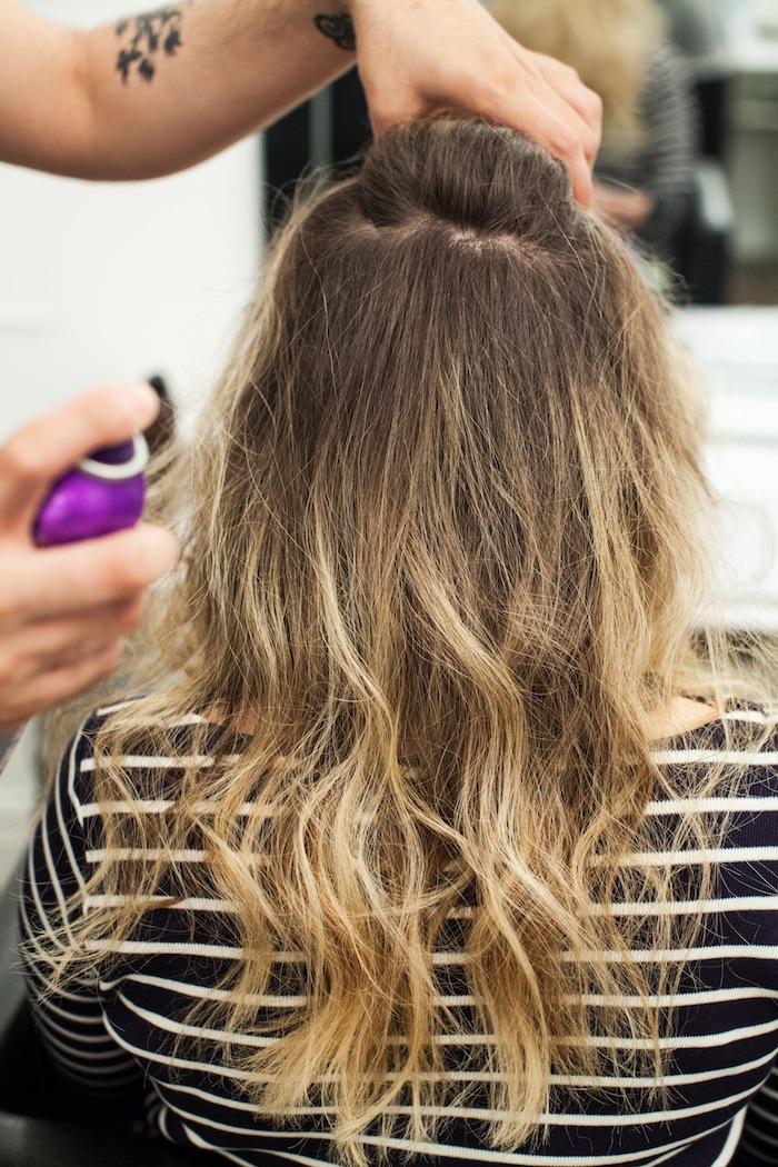 game of thrones khaleesi braid hair tutorial step 3