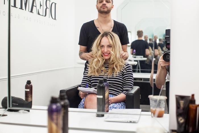 game of thrones khaleesi braid hair tutorial step 4