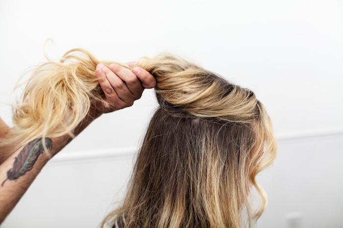 game of thrones khaleesi braid hair tutorial step 5
