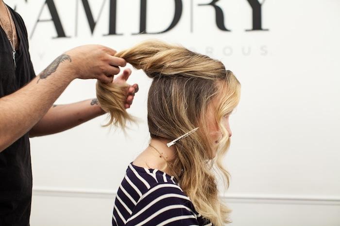 game of thrones khaleesi braid hair tutorial step 6
