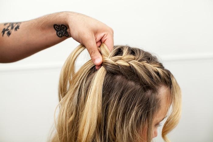 game of thrones khaleesi braid hair tutorial step 7