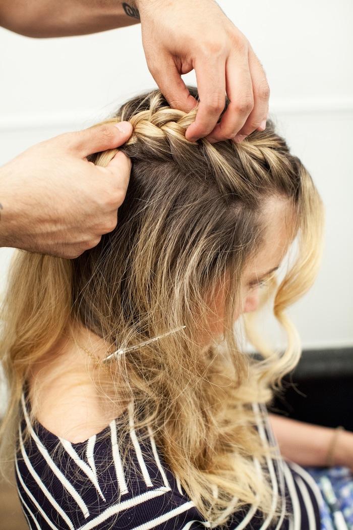game of thrones khaleesi braid hair tutorial step 8