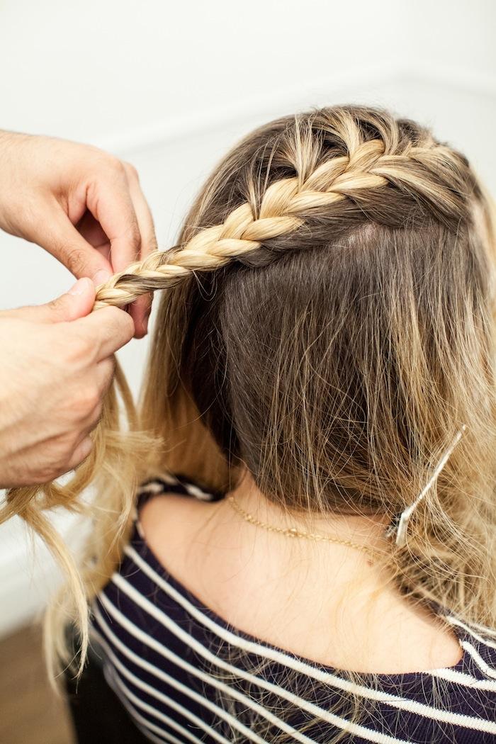 Game Of Thrones Khaleesi Braid Hair Tutorial Step 9