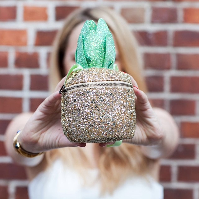 you'll never guess where I got my pineapple purse! @liketoknow.it…