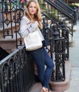 Embellished Jacket + Jeans - The Stripe