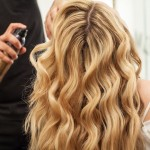 Beach Waves Hair Tutorial.