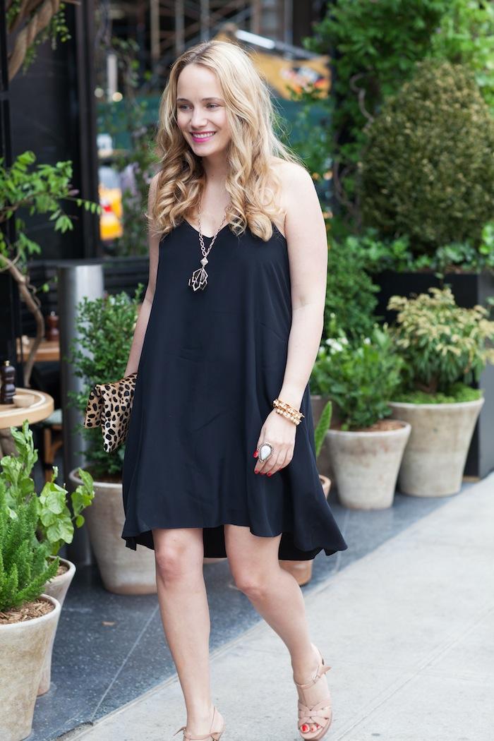 Little Black Slip Dress The Stripe
