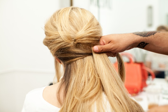 fishtail braid tutorial 14