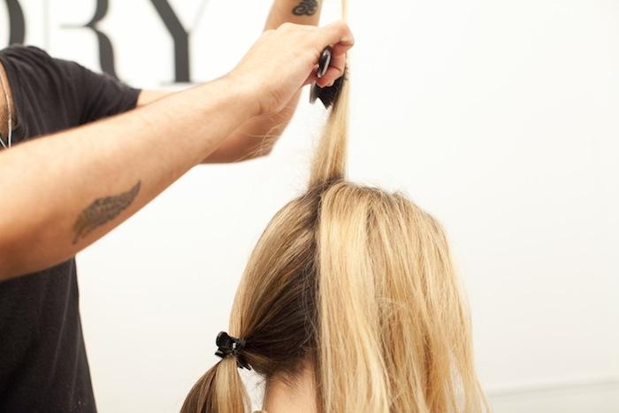 fishtail braid tutorial 5
