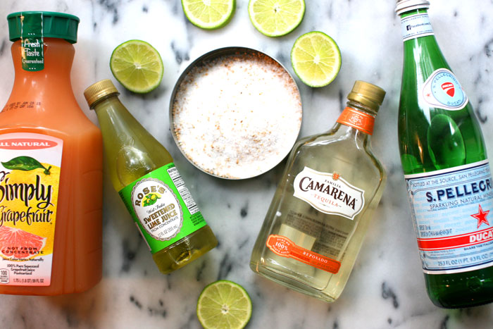 Paloma Cocktail Recipe: Ingredients - The Stripe