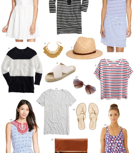 Cape Cod Packing List - The Stripe.