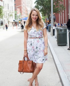 Ann Taylor Floral Eyelet Dress - The Stripe.