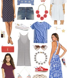 Fourth of July Style - The Stripe.