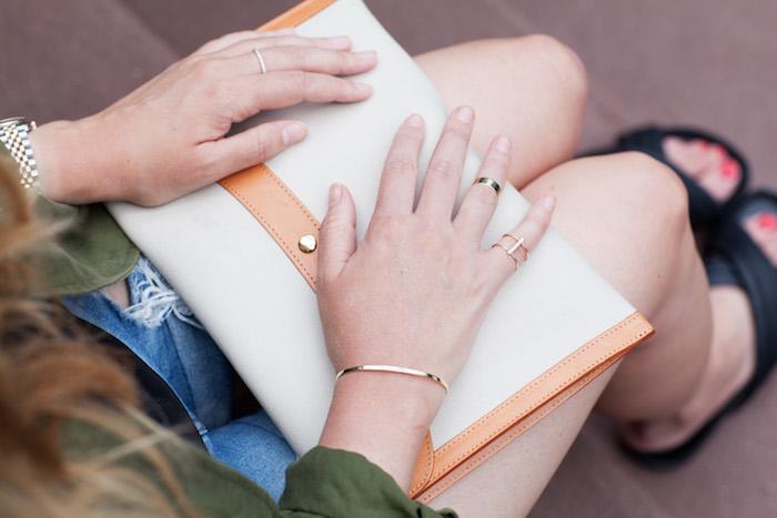 vrai and oro gold jewelry The Stripe