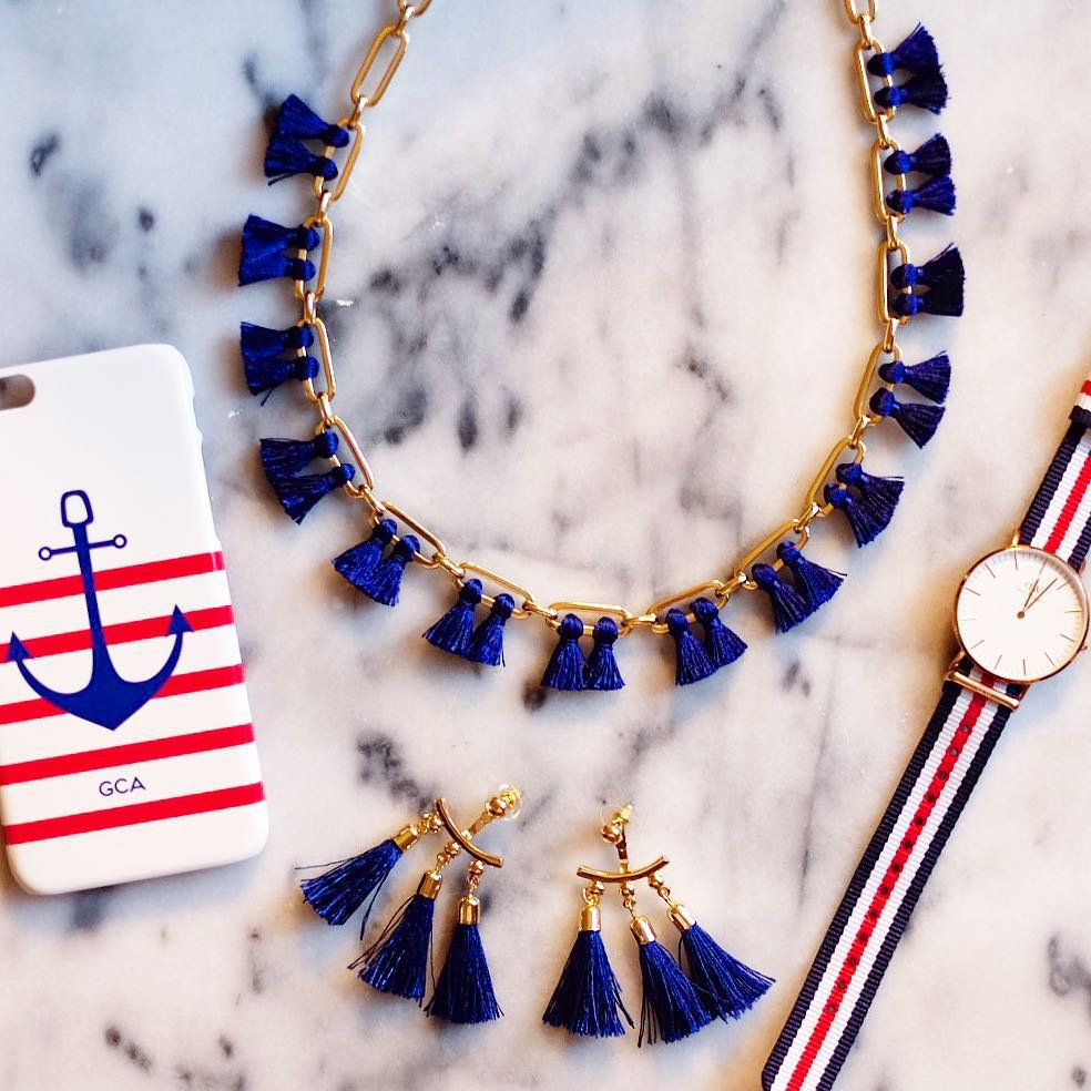 some fourth of july tassels and things! liketoknowit wwwliketkit1xzP8 liketkit