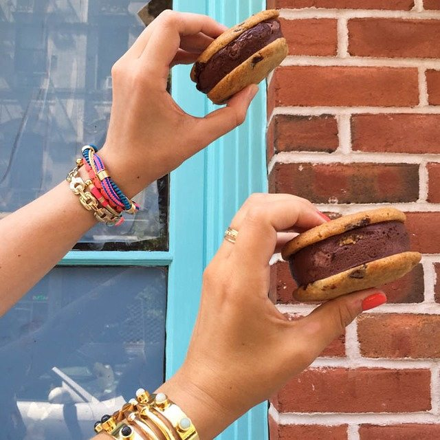 in honor of NationalIceCreamSandwichDay yes its a real thing! beccabelllehellip