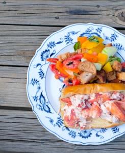 Lobster Roll Recipe - The Stripe.