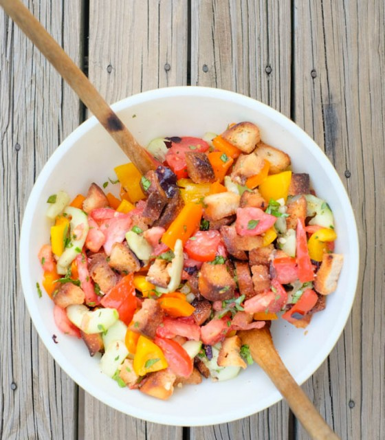 Panzanella Salad Recipe: The Stripe