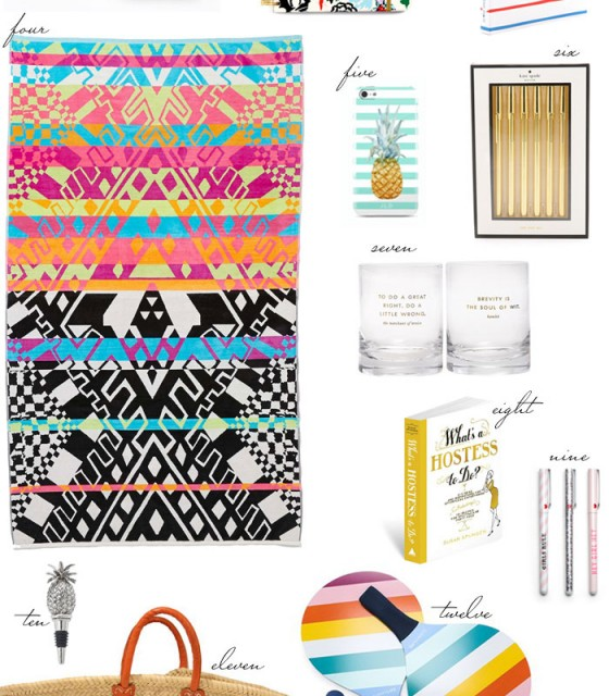 Best Summer Hostess Gifts - The Stripe.