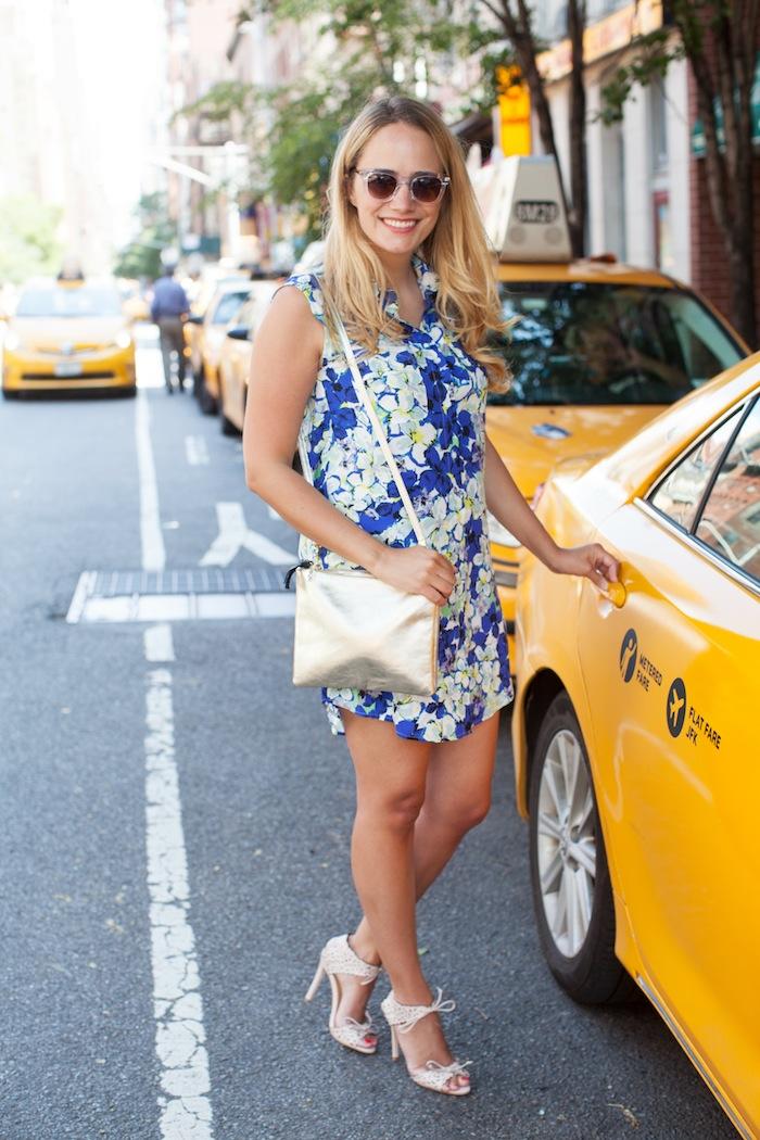 cch collection floral shirt dress