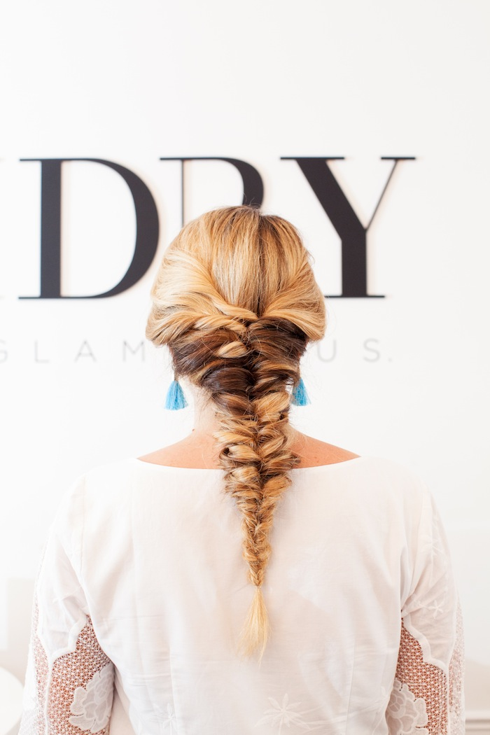 topsy tail braid tutorial 1