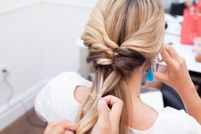 Topsy Tail Braid Hair Tutorial The Stripe