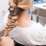 Topsy Tail Braid Hair Tutorial.