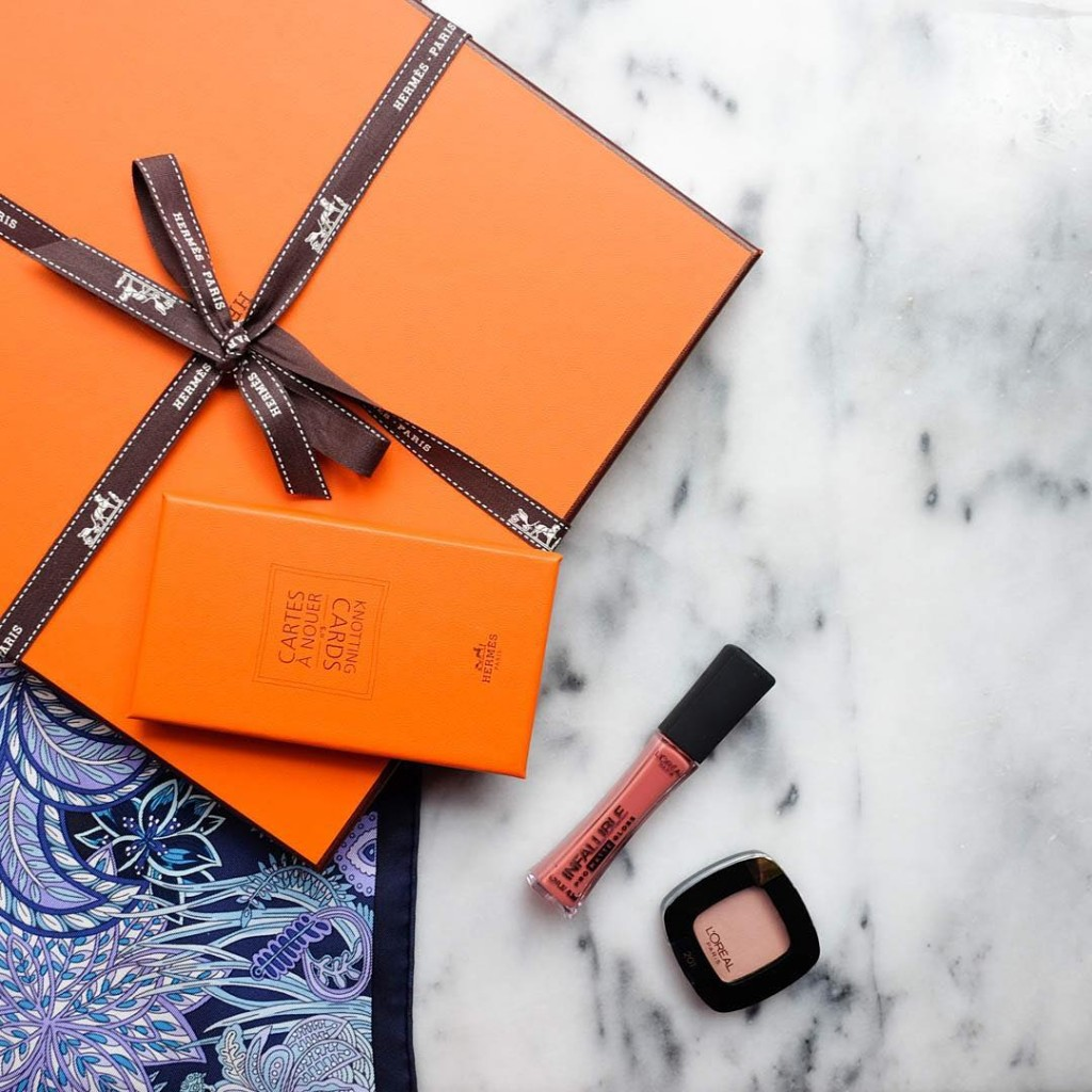 the best gifts come in orange boxes thank you lorealparisofficialhellip