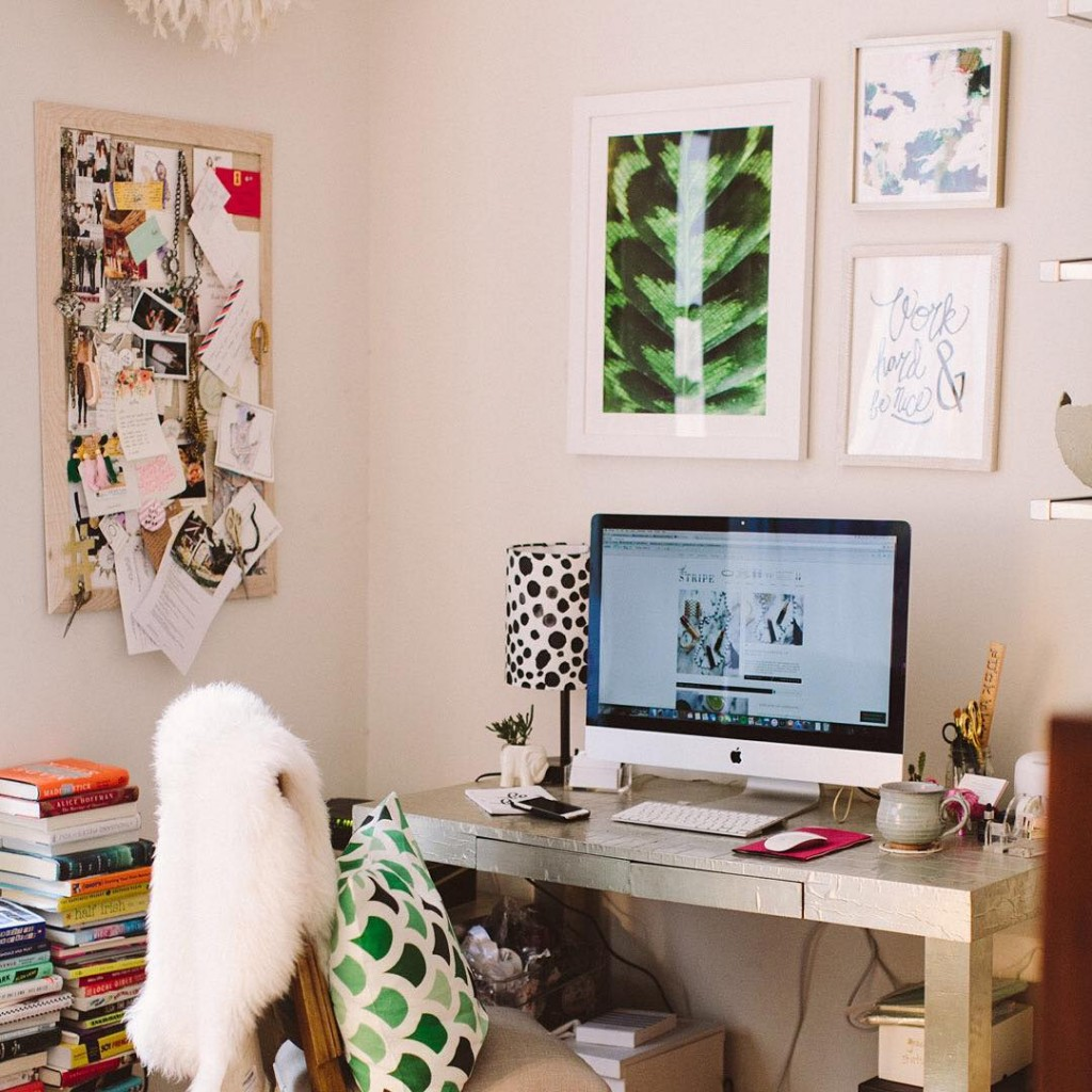 sharing a peek at my home office tomorrow on thehellip
