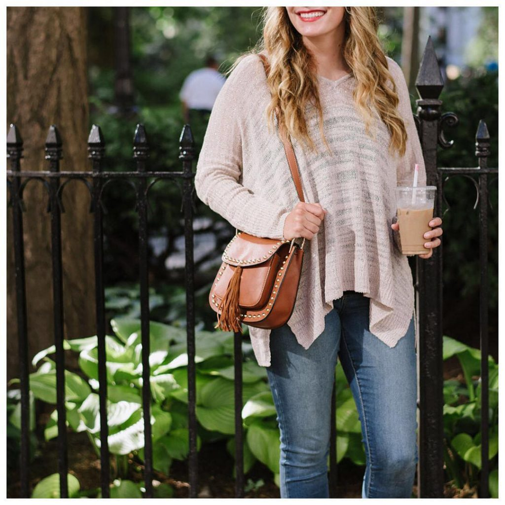 easy Fall style at its best a cozy sweater ahellip