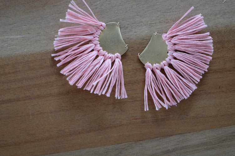 DIY Tassel Earrings19