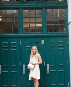 Club Monaco Waneda Knit Dress - The Stripe.