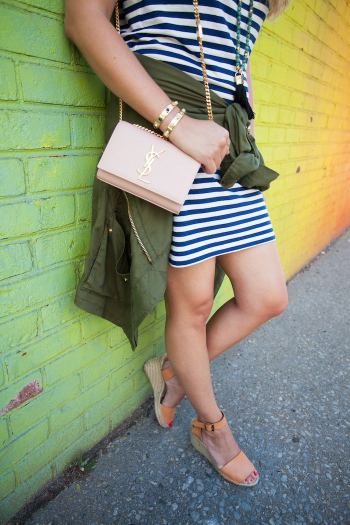 lou & grey striped t-shirt dress 4